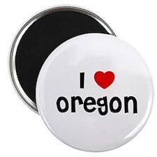 """I * Oregon 2.25"""" Magnet (10 pack)"""