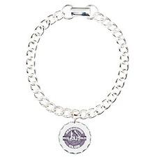 Marathon Club Charm Bracelet, One Charm