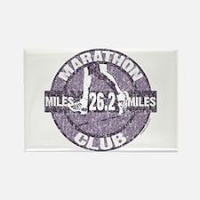 Marathon Club Rectangle Magnet