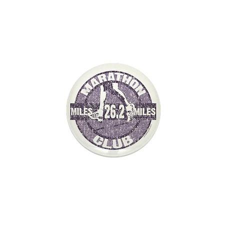 Marathon Club Mini Button