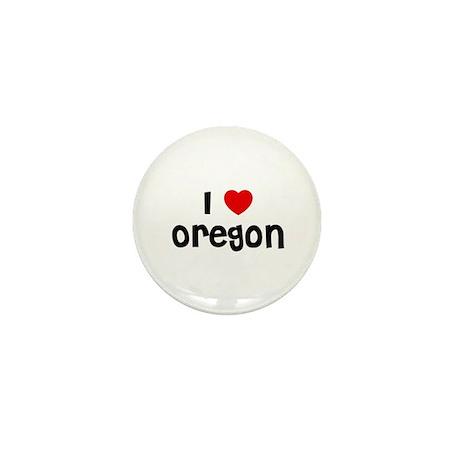 I * Oregon Mini Button