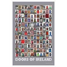 Doors of Ireland Poster