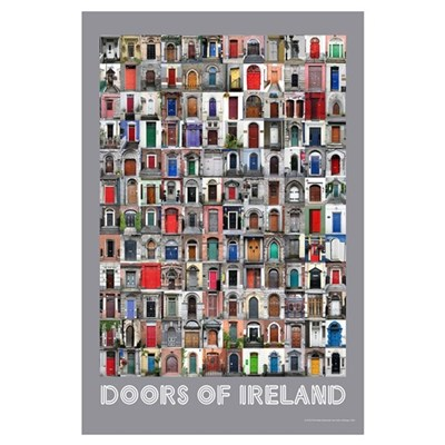 Doors of Ireland Framed Print