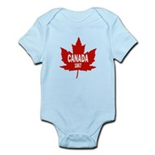Canada 1867 Infant Bodysuit