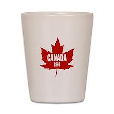 Canada 1867 Shot Glass
