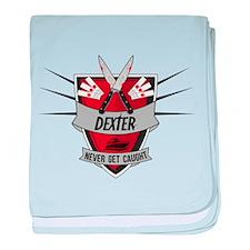 Dexter - Never Get Caught baby blanket