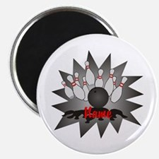 """Personalized Bowling 2.25"""" Magnet (10 pack)"""