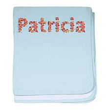 Patricia Fiesta baby blanket