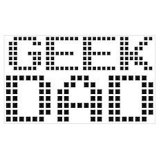 Geek Dad Poster