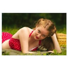 1942, Jill on a picnic, Poster