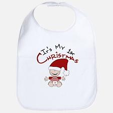 It's My 1st Christmas Bib