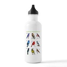 Songbirds of North America Water Bottle
