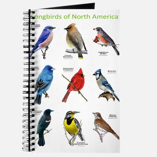 Songbirds of North America Journal