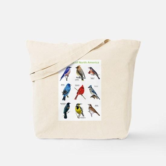 Songbirds of North America Tote Bag