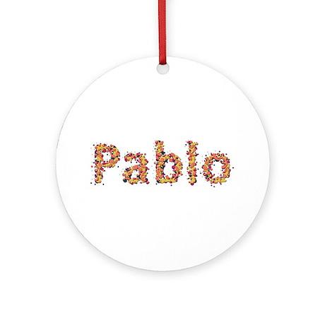 Pablo Fiesta Round Ornament
