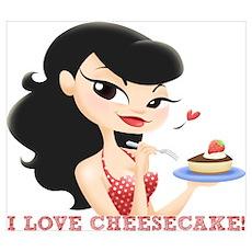 I Love Cheesecake! Poster