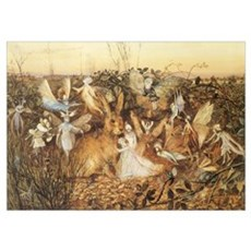 Forest Fairies Poster