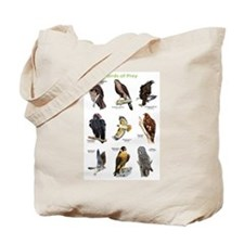 Northern American Birds of Prey Tote Bag