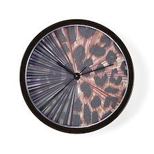Leopard Print Mix Wall Clock
