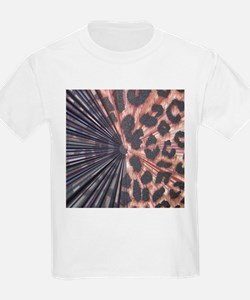 Leopard Print Mix T-Shirt
