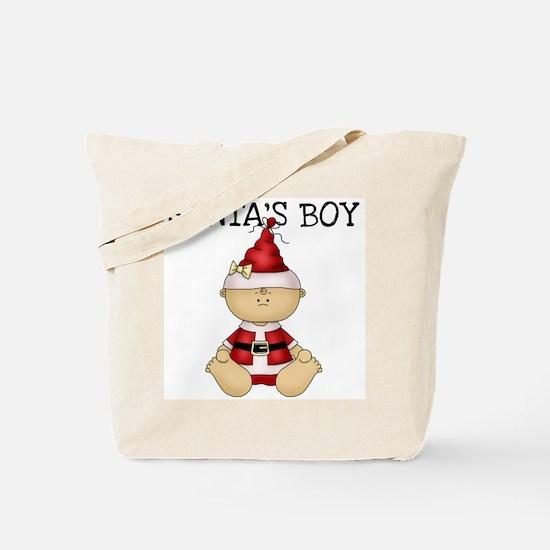 Santa's Boy Tote Bag