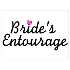 Bride's Entourage Poster