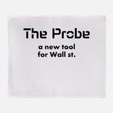 the probe a new tool for wall Throw Blanket