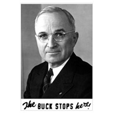 The Buck Stops Here! Poster