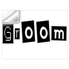 Groom (Square) Wall Decal
