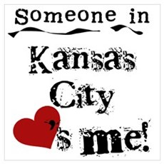 Kansas City Loves Me Poster