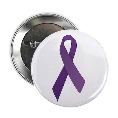 "Purple Ribbons 2.25"" Button"