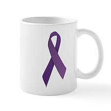 Purple Ribbons Mug