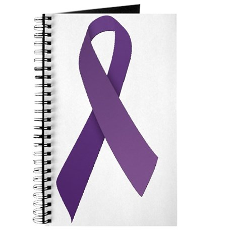 Purple Ribbons Journal
