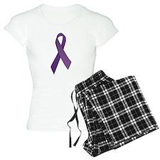 Purple Ribbons Pajamas