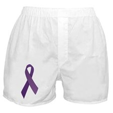 Purple Ribbons Boxer Shorts