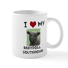 I Love my Babydoll Southdowns Mug