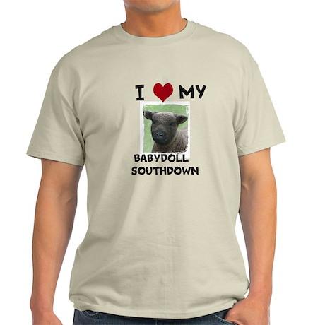 I Love my Babydoll Southdowns Light T-Shirt