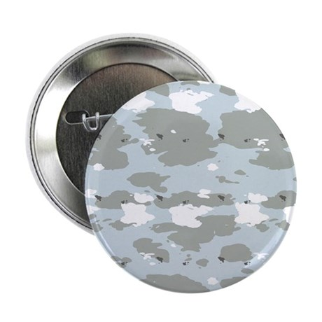 """Light Blue Camouflage 2.25"""" Button (100 pack)"""
