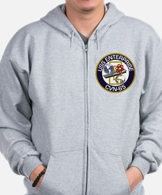 2-Sided Enterprise Zip Hoodie