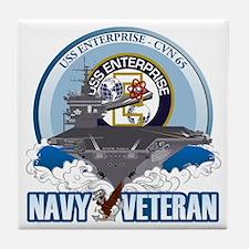 CVN-65 USS Enterprise Tile Coaster