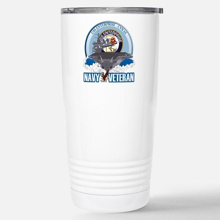 CVN-65 USS Enterprise Travel Mug