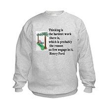 Thinking Sweatshirt