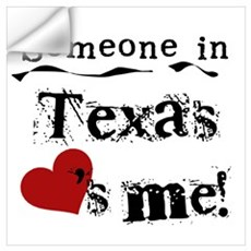 Someone in Texas Wall Decal
