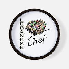 LB Chef Wall Clock