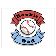 Rookie Dad Canvas Art