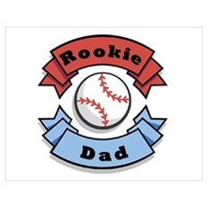 Rookie Dad Poster