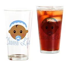 ProLife (African American Boy) Drinking Glass
