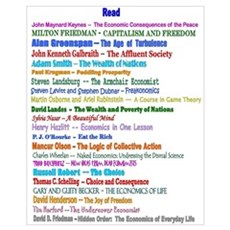 of Reading List for Economics Poster