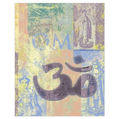 Om Abstract Poster