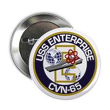 "CVN-65 USS Enterprise 2.25"" Button"